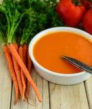 Soupe à Vegan photographie stock