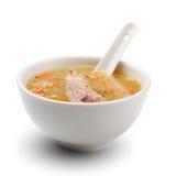 Soupe à viande image stock