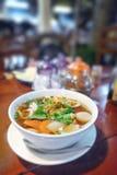 Soupe épaisse savoureuse Photo stock