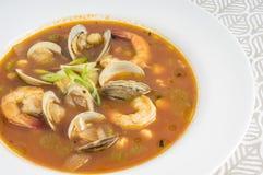 Soupe épicée #1 à fruits de mer photo stock