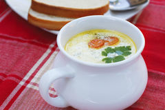 Soupe Image stock