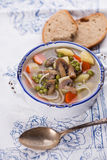 Soupe appétissante fraîche Photos stock