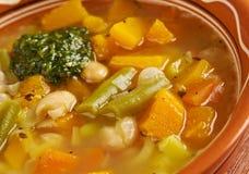 Soupe au Pistou Stock Photos