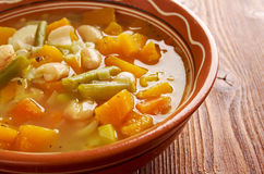 Soupe au Pistou Royalty Free Stock Photography