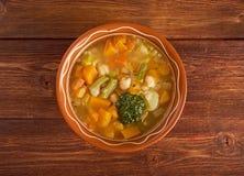 Soupe au Pistou Stock Images