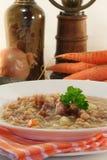 Soupe aux fèves Photos stock