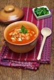 Soupe aux fèves Photo libre de droits