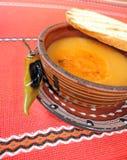 Soupe aux fèves Images stock