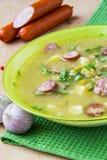 Soupe aux pois Photos stock