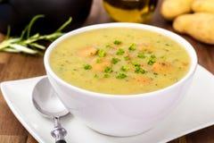 Soupe aux pommes de terre Photos libres de droits