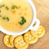 Soupe aux pommes de terre Photo stock