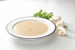 Soupe à champignons Photographie stock libre de droits