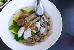 Soupe claire chinoise à Ekaehla Photographie stock