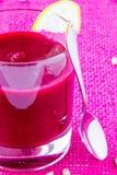 Soupe crème à betteraves photo libre de droits