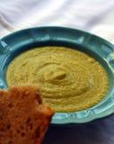 Soupe crème à brocoli et à céleri Images libres de droits