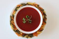 soupe crème à tomate, soupe à tomate, Image libre de droits