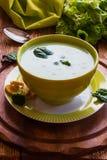Soupe crémeuse à brocoli Images libres de droits