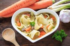 Soupe de nouilles Photo stock