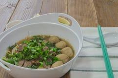 Soupe de nouilles Photo libre de droits