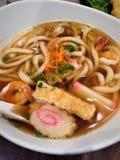 Soupe de nouilles vietnamienne d'Udon images libres de droits