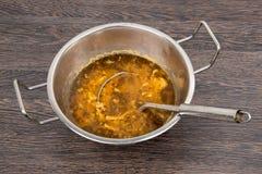 Soupe delizioso della trippa Fotografie Stock