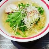 Soupe japonaise à Ramen Image libre de droits
