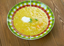 Soupe a la courge Royalty Free Stock Image