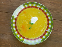 Soupe a la courge Royalty Free Stock Images