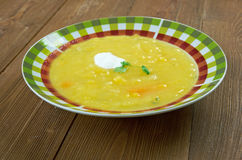 Soupe a la courge Royalty Free Stock Photography