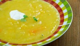 Soupe a la courge Royalty Free Stock Image