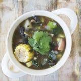 Soupe plate 05 à tortilla de configuration Photo libre de droits