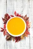 Soupe ? potiron image stock