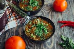 Soupe pour le dîner Image libre de droits