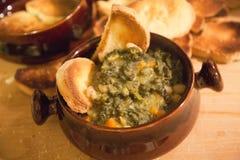 Soupe toscane Images libres de droits