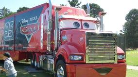 Souped acima do caminhão Foto de Stock Royalty Free
