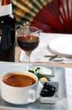 soupgrönsak Royaltyfri Fotografi