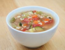 soupgrönsak Fotografering för Bildbyråer