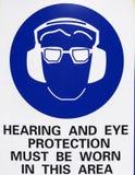 Soupir d'avertissement Image libre de droits