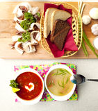 Soups Stock Images