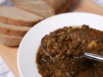 soupspoonful för 5582 lin Royaltyfri Fotografi