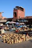 Souq在马拉喀什,摩洛哥 免版税库存照片