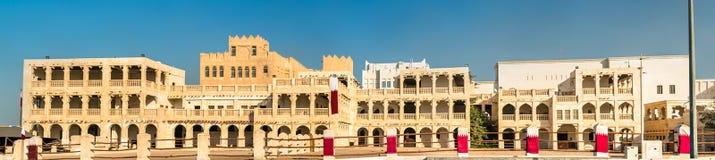 Souq ιππικό σε Doha, Κατάρ Στοκ Εικόνα