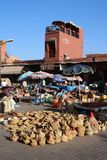 Souq в Marrakech, Марокко Стоковое фото RF