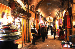 Souq al-Madina - Syrien Arkivbild