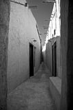 Souq Alley. An alley in the Old Souq in Doha, Qatar stock photo