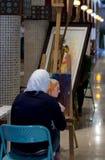 Souq artist Stock Image