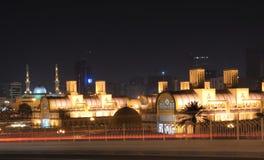 Souq central en la ciudad de Sharja fotos de archivo