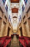 Souq in Doha, Qatar royalty free stock photo