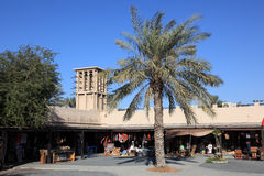 Souq in the Dubai Heritage Village Stock Photos