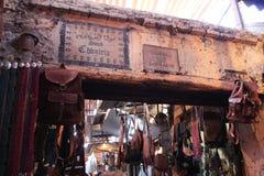 Souq em C4marraquexe, Marrocos Fotos de Stock